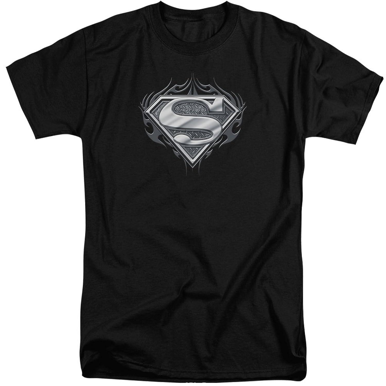 Superman Men's Biker Metal Tall T-Shirt