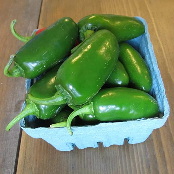Ruffled Pimento Hot Pepper Organic Non-GMO 12 Seeds