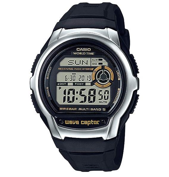 Casio Reloj Digital para Hombre de Cuarzo con Correa en Plástico WV-M60-9AER: Amazon.es: Relojes