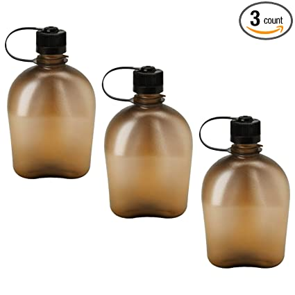 Amazon.com: Nalgene Oasis 1qt Cantina Botella – 3 Pack ...