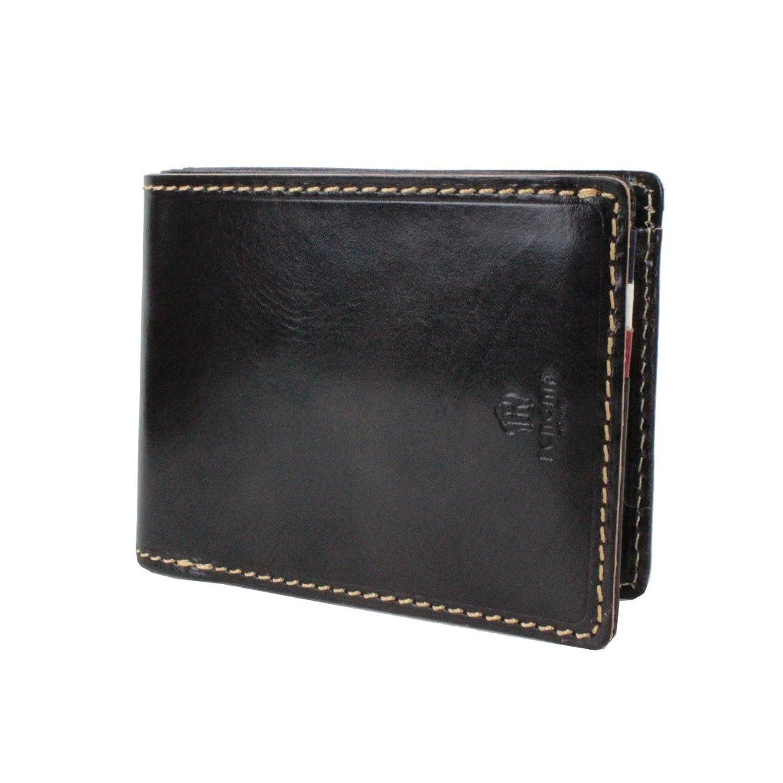 renoma レノマ Loose ルース 二つ折り財布 501603 B01N9W1K16ブラック