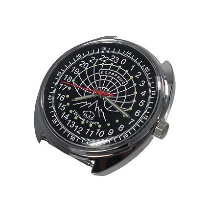 f0c902e238d Amazon.com   Russian Mechanical watch 24 hr military dial POLAR BEAR(0633)    Everything Else