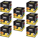 Bialetti Coffee Capsules Venezia – Set 8 packages of 16 capsules – Yellow For Sale