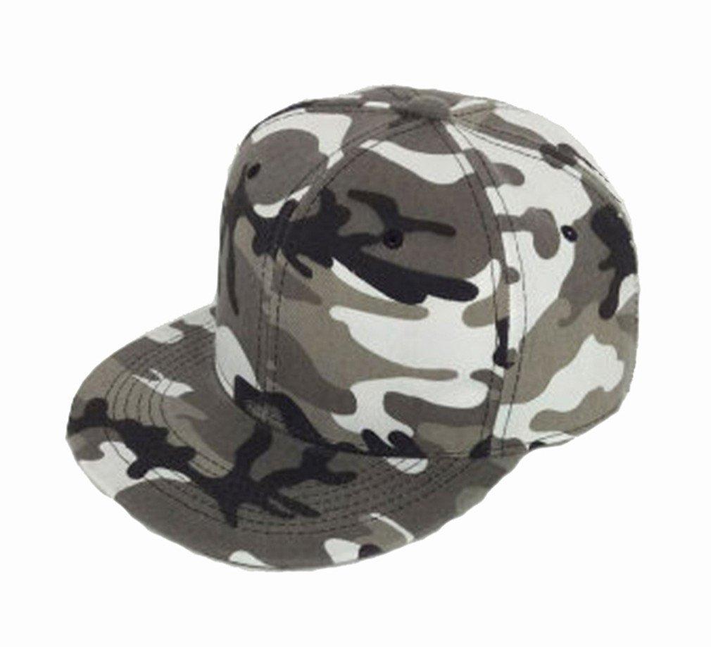 Westeng Regolabile Cappello da Baseball Unisex Camouflage Sun Piatto Eaves Dome Sport Viaggi cap Hip Hop Sunscreen, Camouflage A