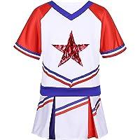 iiniim Disfraces de Animadora Fútbol Tenis Baloncesto Niñas