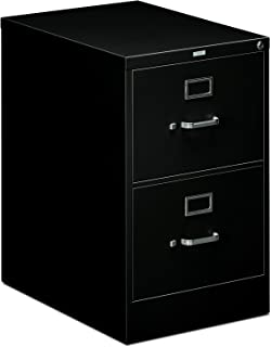 """product image for HON 2-Drawer Filing Cabinet - 510 Series Full-Suspension Legal File Cabinet, 29h by 25d by 18.25w, Black (H512C)"""""""