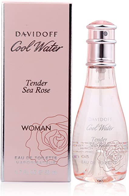 Davidoff Cool Water Sea Rose Tender Eau de Toilette Spray para mujer 50 ml