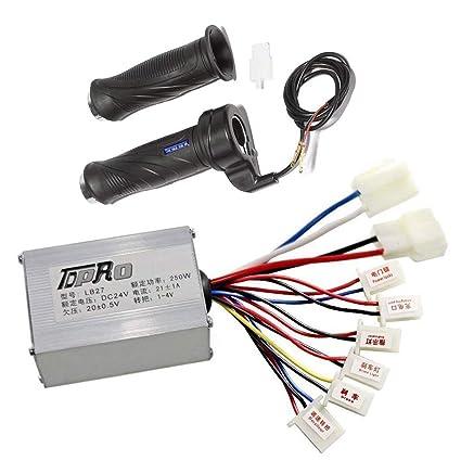 zxtdr 24 V 250 W cepillo velocidad controlador de motor y ...