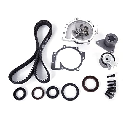 Roadstar Timing Belt Water Pump Kit with Tensioner for 98-10 Volvo C30 S40 S60