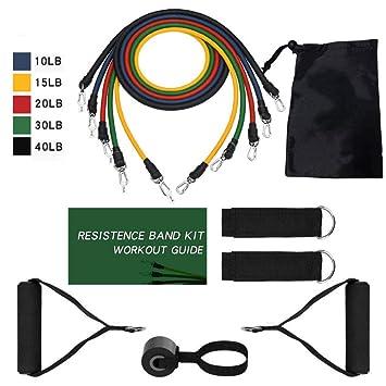 Nuevo conjunto de bandas de resistencia de 14 piezas ...