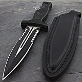 9″ M-TECH USA XTREME BLADE MILITARY TACTICAL BOOT KNIFE Survival Fixed Blade Review