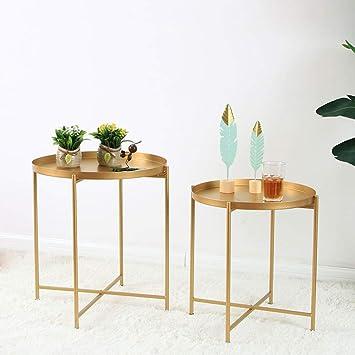 Weii Nordic Style Simple Fer Forge Petite Table Basse Creative Mini