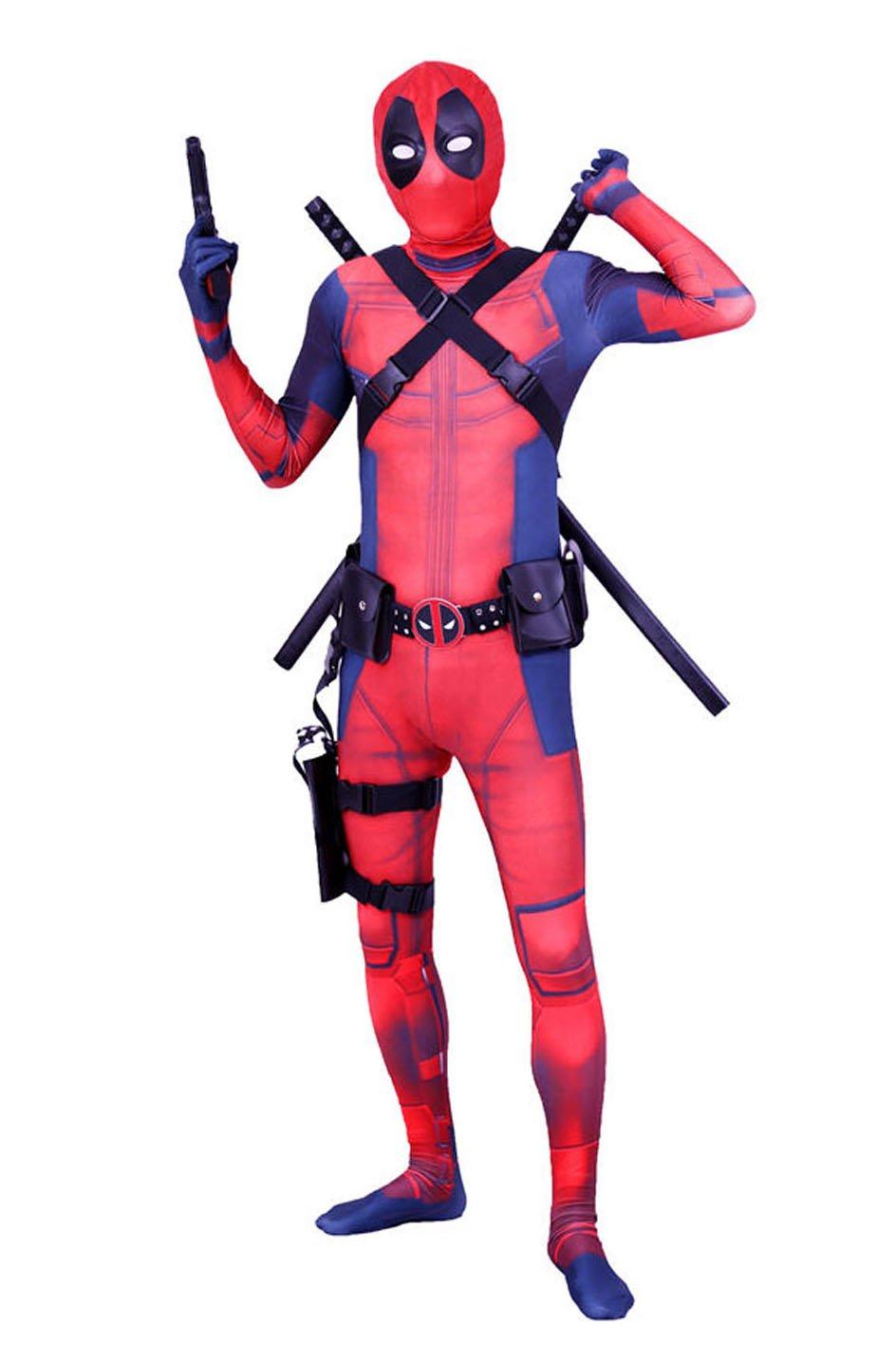 Danlier Halloween Cospaly Dress Up 3D Party Costume Lycra Onesie Spandex Zentai 61JS 2BEziD2L