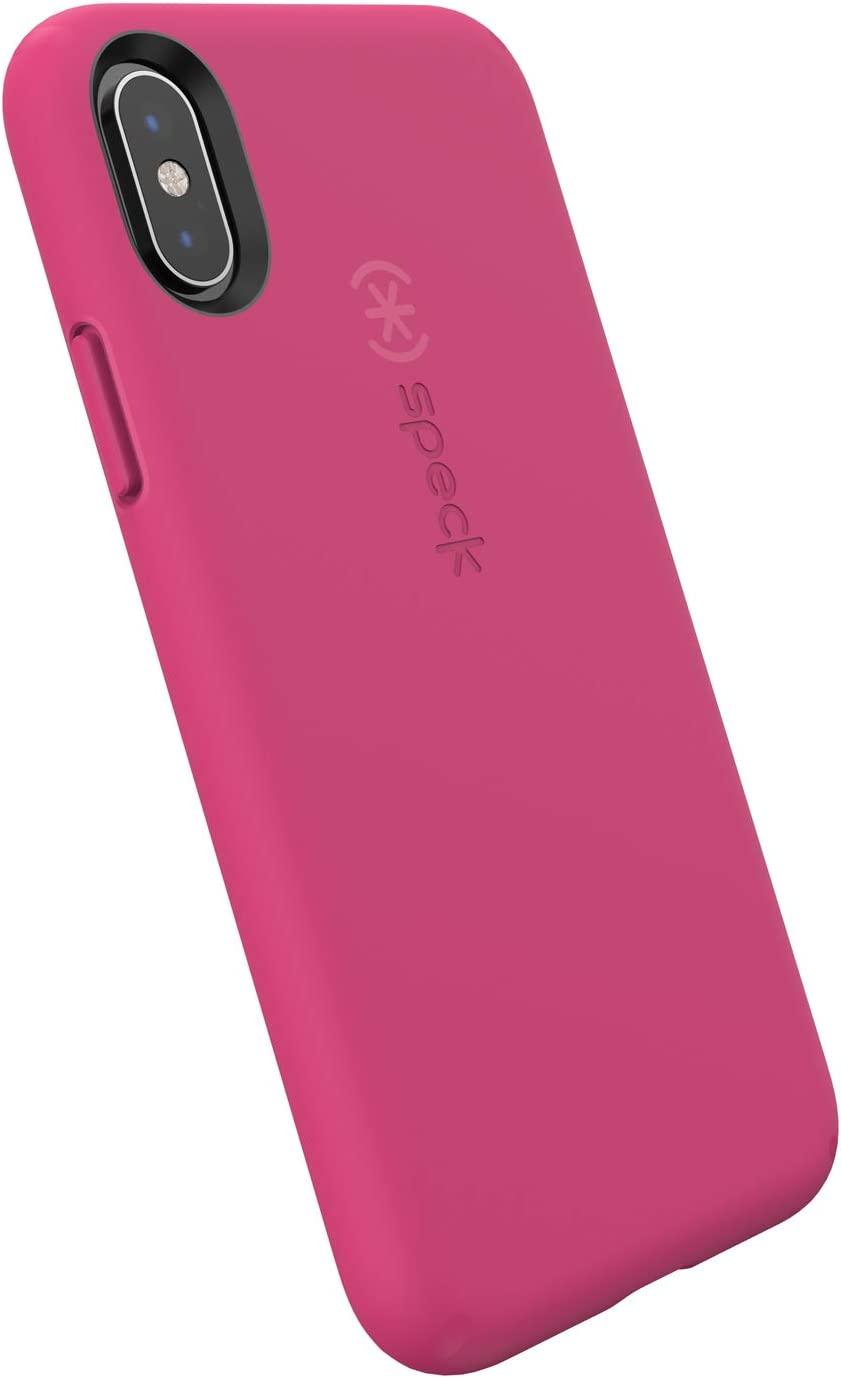 Speck Products iPhone Xs/iPhone X Case, CandyShell Fit, Berry Pink/Berry Pink