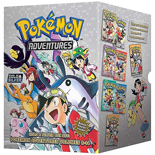 Price comparison product image Pokémon Adventures Gold & Silver Box Set (set includes Vol. 8-14) (Pokemon)