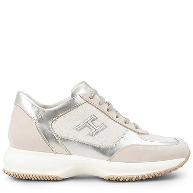 grande vente bc30e 495bd Hogan Interactive HXW00N0BH50KJR0QDB Chaussures de Sport ...