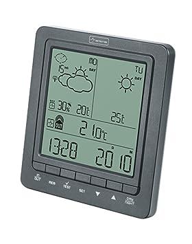 Weather Station EUROPE 2 Koch 11809 - Estación meteorológica inalámbrica de dos partes por radio,