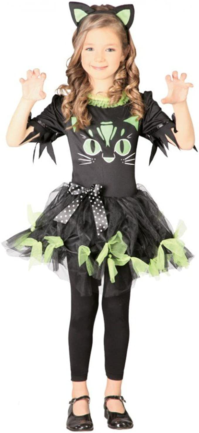 Disfraz Kitty Kyra para disfraces infantiles vestido negro – Verde ...