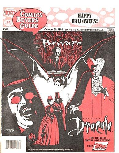 Comics Buyer's Guide, Oct 30 1992 Happy Halloween