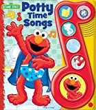 Elmo's Potty Time Play-a-Song Book by Editors of Publications International Ltd. (2010-12-15)