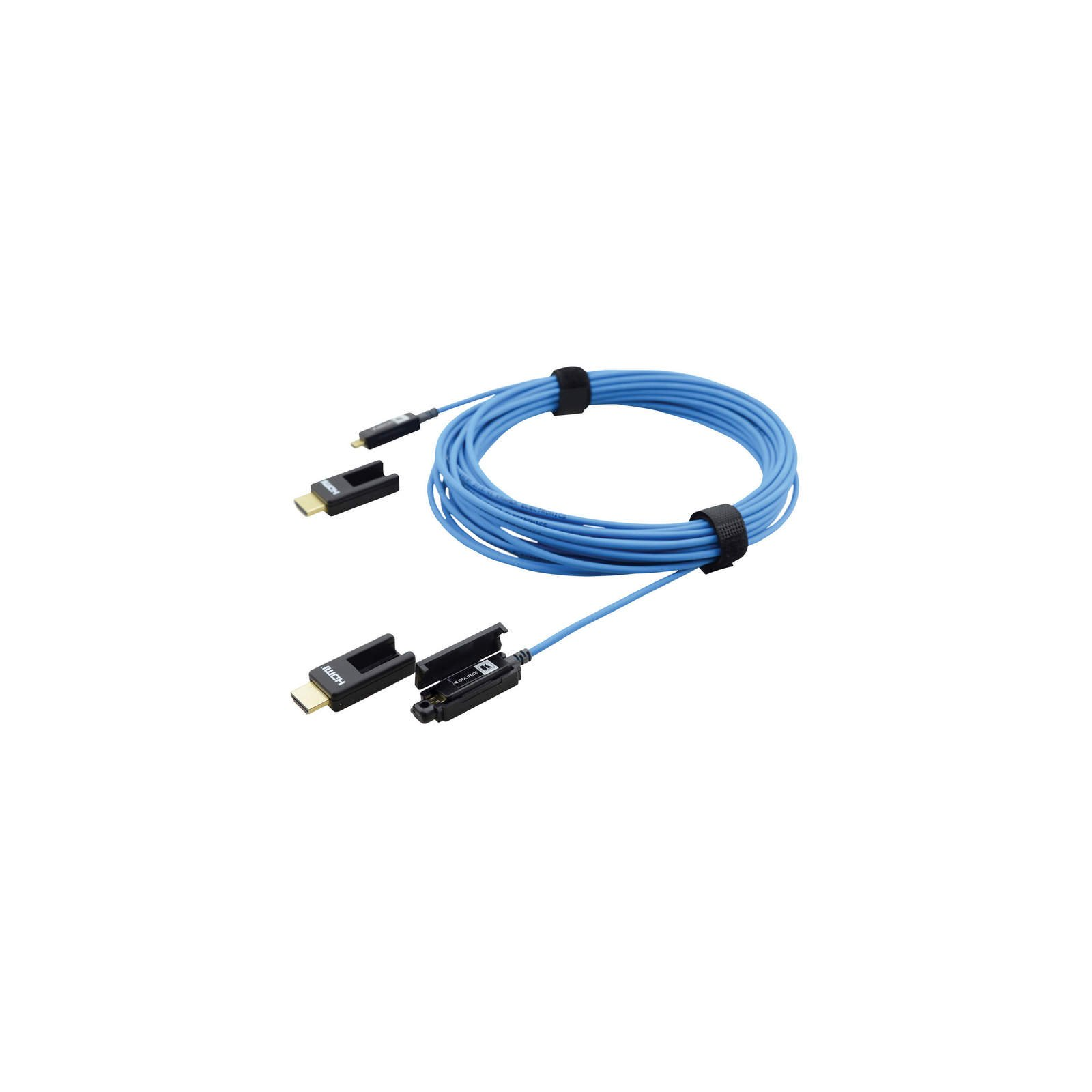 Kramer CP-AOCH/XL-66 | 66 Foot Fiber Optic HDMI Plenum Cable Removable Connectors by Kramer