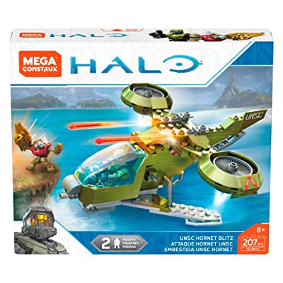 Mega Construx Halo UNSC Hornet Blitz: Toys & Games