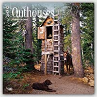Outhouses 2017 Square 12x12 Wall Calendar