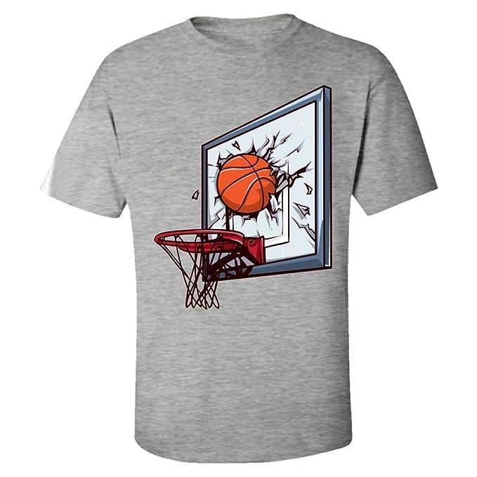 Amazon.com: Camiseta de baloncesto Slam Dunk para niños ...