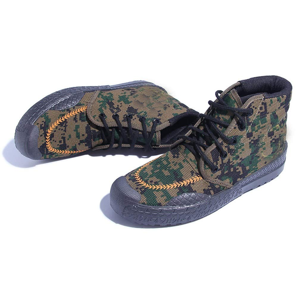 f416c2f197f18 RcnryCamouflage farm labor safety shoes, wear resistant and antiskid ...