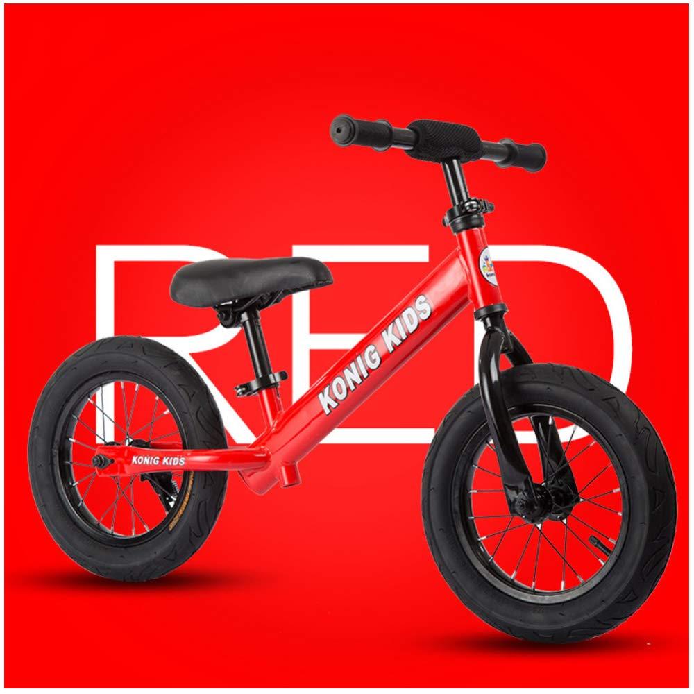 CHRISTMAD Telaio Bici per Bambini Telaio per Bambini Maniglia Regolabile E Altezza Sedile Gift 80-120 Cm,C