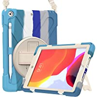 ProCase iPad 10.2 Case 2021 iPad 9th/2020 iPad 8th/2019 iPad 7th Generation Case, Rugged Heavy Duty Shockproof Rotatable…