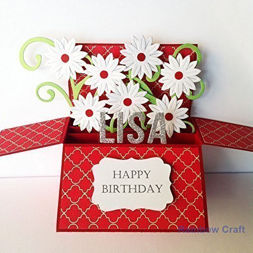 Amazon Name Age Personalised Birthday Card Girlfriend