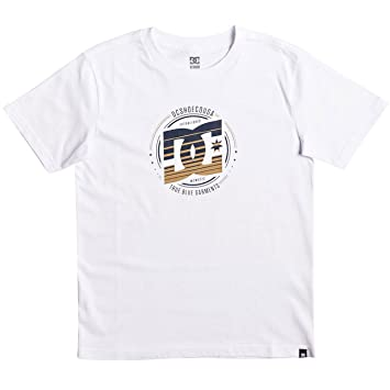 aea976dd67881 DC Shoes Heraldry - T Shirt - Garçon Enfant 8-16 Ans - Blanc  DC ...