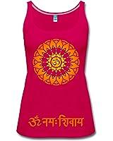 Yoga OM Namah Shivaya Frauen Premium Tank Top von Spreadshirt®