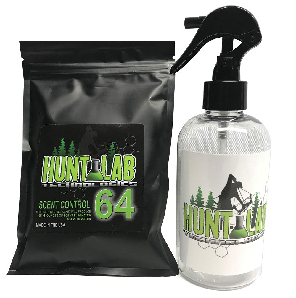 Hunt Lab Scent Control 64 - Organic Scent Eliminator Kit by Hunt Lab Technologies