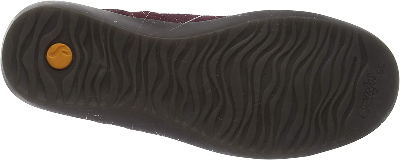 Softinos Biel549sof, Zapatillas Altas para Mujer Rojo Dk Red 012