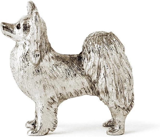 Papillon dog figure made in UK japan import