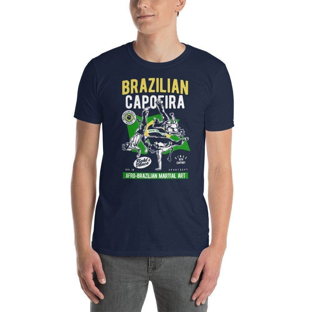 DR-MASTERMIND Brazilian-Capoeira Short-Sleeve Unisex T-Shirt