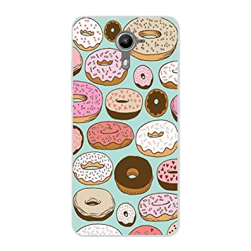 Funda Wiko Ufeel Prime Gel Flexible diseño Food - A054 ...