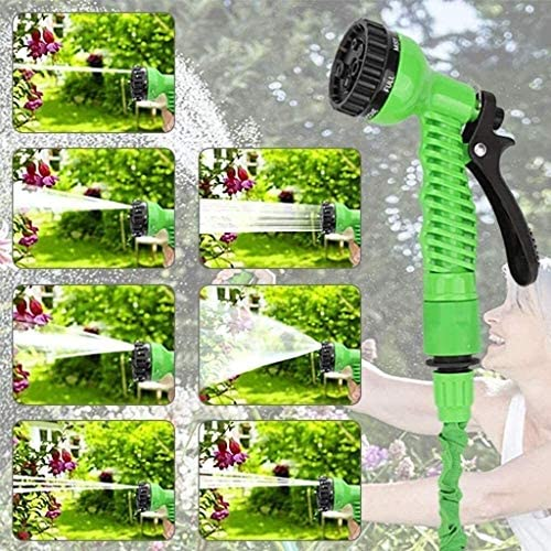 Garden Hose Pipe Expanding Flexible Magic Hosepipes with 7 Function Watering Gun/Tap Connectors (Size : 125ft) WKY (Size : 25ft)