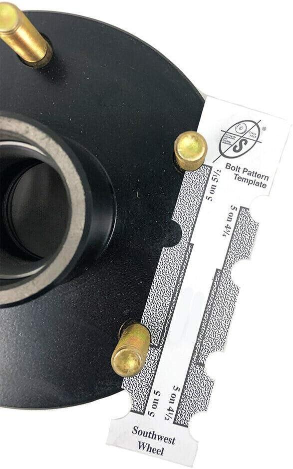 Southwest Wheel SP20484X 84 Square Spindle /& 5-5.5 Bolt Circle Trailer Hub