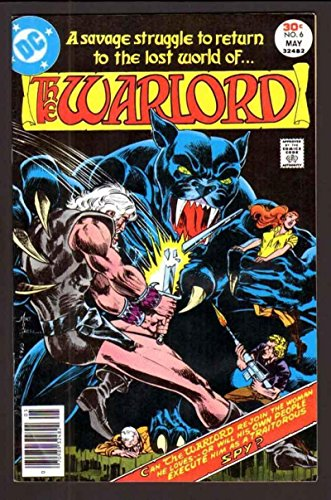 WARLORD #6, VF+, Mike Grell, DC 1976 1977, more DC in store