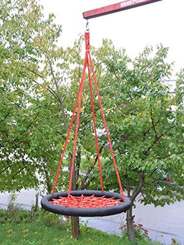 l Netzschaukel bis 200kg Ø 85cm Schaukel Tellerschaukel Rundschaukel NEU NEU
