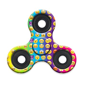 High Speed & Longest Spin Time Spinner Squad Fidget Spinners (mini emojicon)