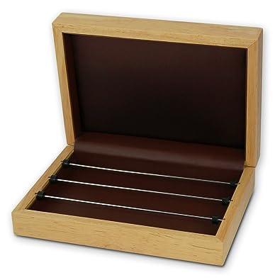 Plata Dream Charms y cuentas joyas caja de madera de haya ...