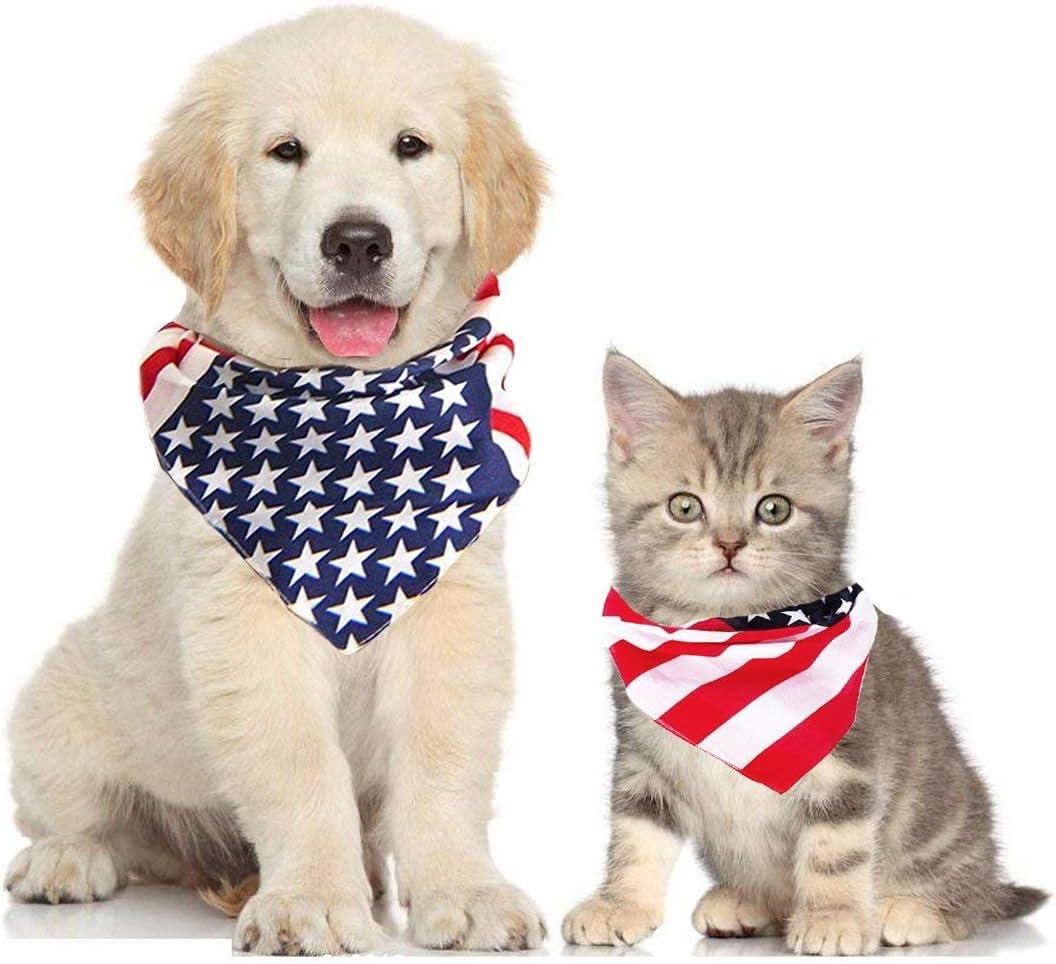 Tie Bandana Independence Day Dog Bandana Bandana for Dogs FREE SHIPPING Fourth of July Shimmery Dog Bandana