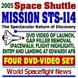 img - for 2005 Space Shuttle Mission STS-114 Return-to-Flight Video Collection: DVD Video of Launch, Gap Filler Removal Spacewalk, Flight Highlight, Edwards Landing, July-August 2005 (Four DVD-Video Set) book / textbook / text book