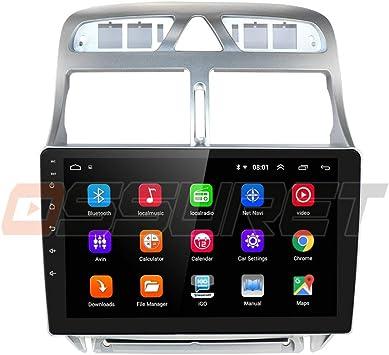 9 Pulgadas Android 10 Quad Core 2 + 32 GB Radio De Coche Navegador GPS Compatible con Peugeot 307 307CC 307SW 2002-2013 Admite Bluetooth 4.0 Radio WiFi 4G USB MicrÓFono CANBUS ISO Cable: Amazon.es: Electrónica