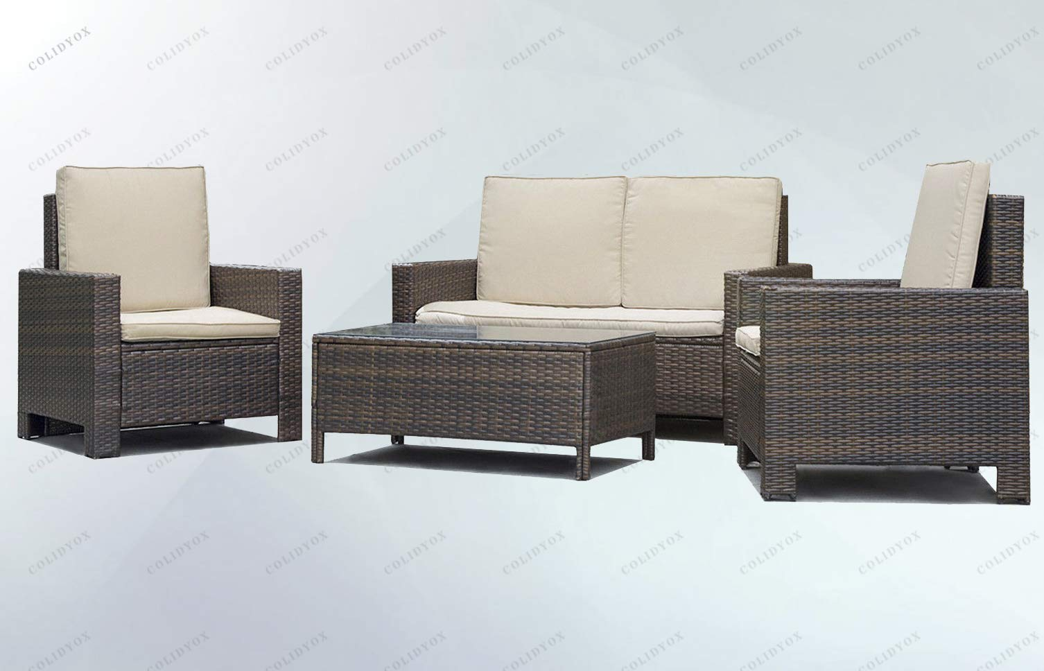COLIDYOX___Outdoor Furniture Set,unused, unopened, Undamaged Item in its Original Packaging,Retail Store,Manufacturer in Non-Retail Packaging