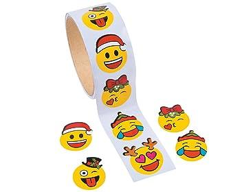 100 Pics Christmas Emoji.100 Christmas Emoji Face Stickers Kids Crafts Childrens Craft Stickers